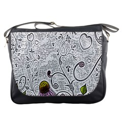 Abstract Pattern Messenger Bags
