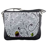 Abstract Pattern Messenger Bags Front