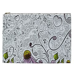 Abstract Pattern Cosmetic Bag (XXL)