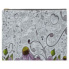 Abstract Pattern Cosmetic Bag (XXXL)