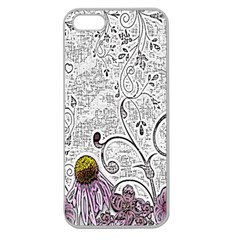 Abstract Pattern Apple Seamless iPhone 5 Case (Clear)