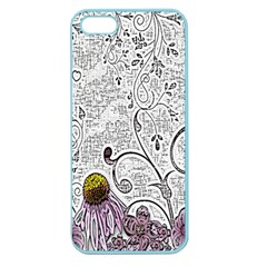 Abstract Pattern Apple Seamless iPhone 5 Case (Color)