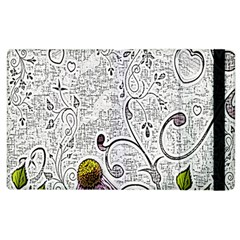 Abstract Pattern Apple iPad 2 Flip Case