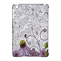 Abstract Pattern Apple iPad Mini Hardshell Case (Compatible with Smart Cover)