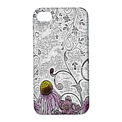 Abstract Pattern Apple iPhone 4/4S Hardshell Case with Stand