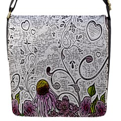 Abstract Pattern Flap Messenger Bag (s)