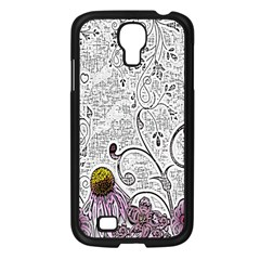 Abstract Pattern Samsung Galaxy S4 I9500/ I9505 Case (black)