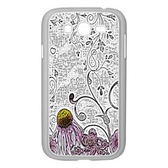 Abstract Pattern Samsung Galaxy Grand DUOS I9082 Case (White)