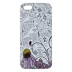 Abstract Pattern iPhone 5S/ SE Premium Hardshell Case