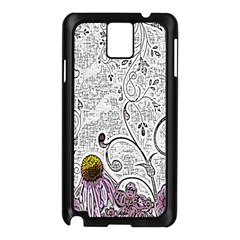 Abstract Pattern Samsung Galaxy Note 3 N9005 Case (Black)