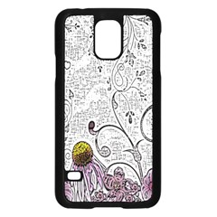 Abstract Pattern Samsung Galaxy S5 Case (Black)