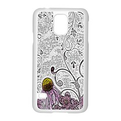 Abstract Pattern Samsung Galaxy S5 Case (White)
