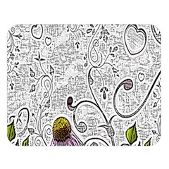 Abstract Pattern Double Sided Flano Blanket (large)