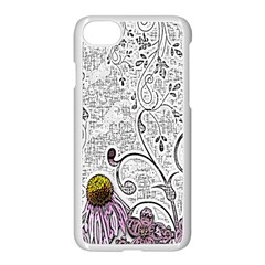 Abstract Pattern Apple Iphone 7 Seamless Case (white)