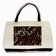 Background Fabric Animal Motifs Basic Tote Bag (Two Sides)