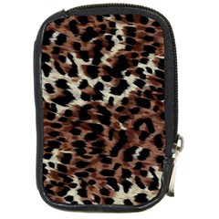 Background Fabric Animal Motifs Compact Camera Cases