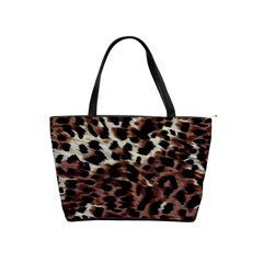 Background Fabric Animal Motifs Shoulder Handbags
