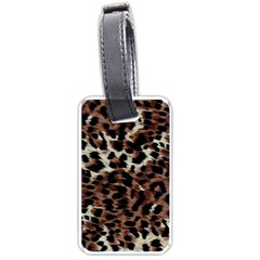 Background Fabric Animal Motifs Luggage Tags (one Side)
