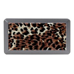 Background Fabric Animal Motifs Memory Card Reader (Mini)