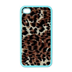 Background Fabric Animal Motifs Apple Iphone 4 Case (color)