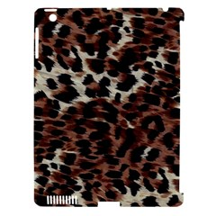 Background Fabric Animal Motifs Apple iPad 3/4 Hardshell Case (Compatible with Smart Cover)