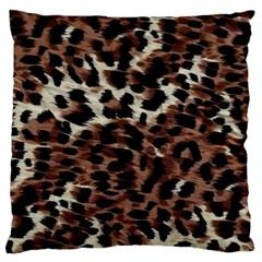 Background Fabric Animal Motifs Large Cushion Case (One Side)