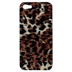 Background Fabric Animal Motifs Apple iPhone 5 Hardshell Case
