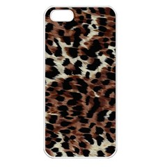 Background Fabric Animal Motifs Apple iPhone 5 Seamless Case (White)