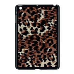 Background Fabric Animal Motifs Apple iPad Mini Case (Black)