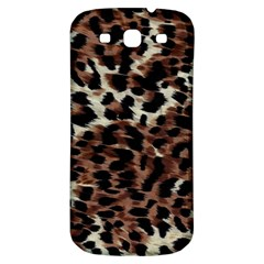 Background Fabric Animal Motifs Samsung Galaxy S3 S Iii Classic Hardshell Back Case