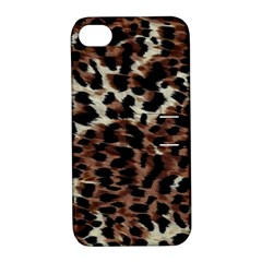 Background Fabric Animal Motifs Apple Iphone 4/4s Hardshell Case With Stand