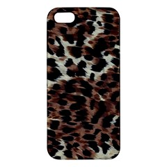 Background Fabric Animal Motifs Apple iPhone 5 Premium Hardshell Case