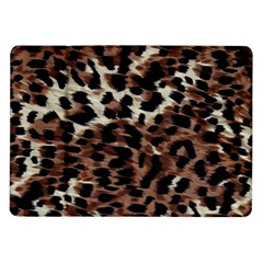 Background Fabric Animal Motifs Samsung Galaxy Tab 10.1  P7500 Flip Case