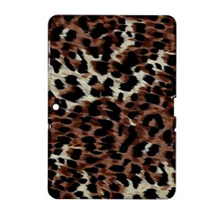 Background Fabric Animal Motifs Samsung Galaxy Tab 2 (10.1 ) P5100 Hardshell Case