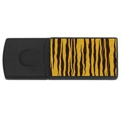 Seamless Fur Pattern USB Flash Drive Rectangular (2 GB)