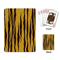 Seamless Fur Pattern Playing Card
