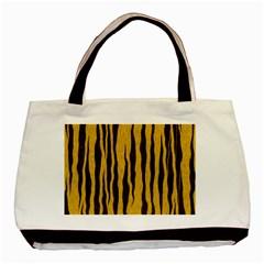 Seamless Fur Pattern Basic Tote Bag