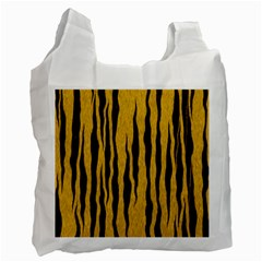 Seamless Fur Pattern Recycle Bag (one Side)