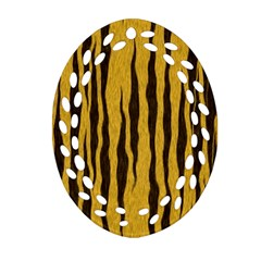 Seamless Fur Pattern Ornament (Oval Filigree)