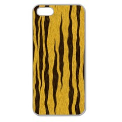 Seamless Fur Pattern Apple Seamless iPhone 5 Case (Clear)