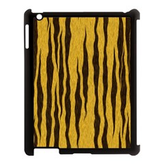 Seamless Fur Pattern Apple iPad 3/4 Case (Black)