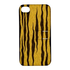 Seamless Fur Pattern Apple iPhone 4/4S Hardshell Case with Stand