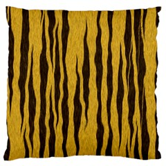 Seamless Fur Pattern Large Flano Cushion Case (two Sides)