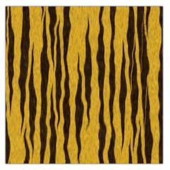 Seamless Fur Pattern Large Satin Scarf (square)