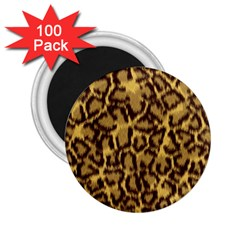 Seamless Animal Fur Pattern 2 25  Magnets (100 Pack)