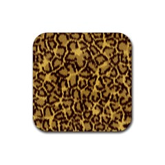 Seamless Animal Fur Pattern Rubber Coaster (Square)