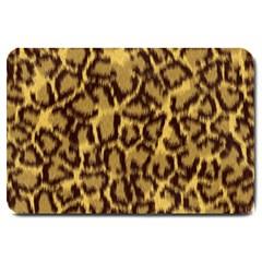 Seamless Animal Fur Pattern Large Doormat
