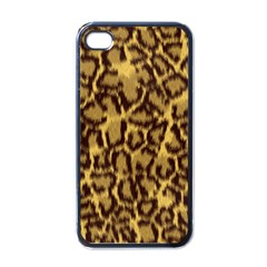 Seamless Animal Fur Pattern Apple iPhone 4 Case (Black)