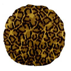 Seamless Animal Fur Pattern Large 18  Premium Round Cushions