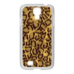Seamless Animal Fur Pattern Samsung GALAXY S4 I9500/ I9505 Case (White)